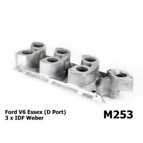 Ford V6 Essex - 3 x Weber IDF Manifold