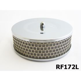Ram-Flo Flame Arrestor - Holley 2 & 4 Barrel Low Profile