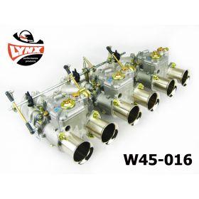 Datsun L24 L26 L28 - 3 x Weber 45 DCOE kit