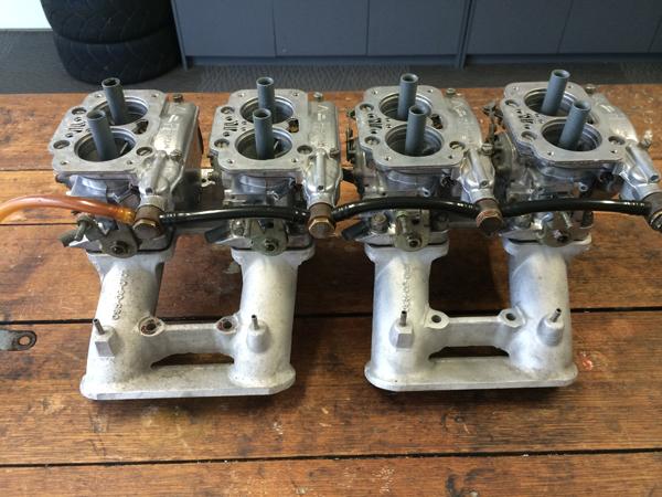 Aston Martin V8 DCNF Weber carbs