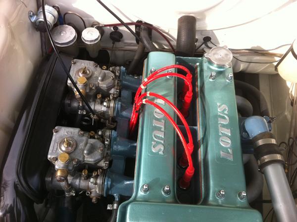 Lotus Cortina Twin Cam