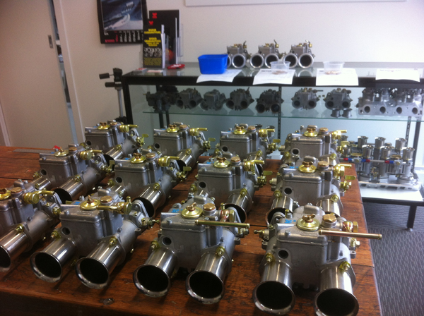 45 DCOE carbs ready for delivery