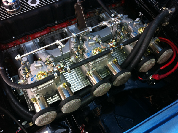 Holden 202 Triple Weber kit