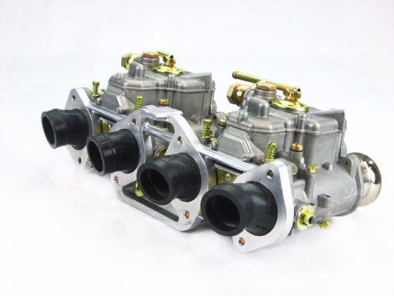 Honda CB Four 750 Motorcycle 2 x Weber 40 DCOE Conversion