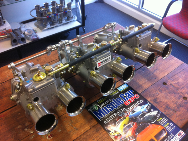 Holden Triple 45 DCOE kit (HOL6-W3)