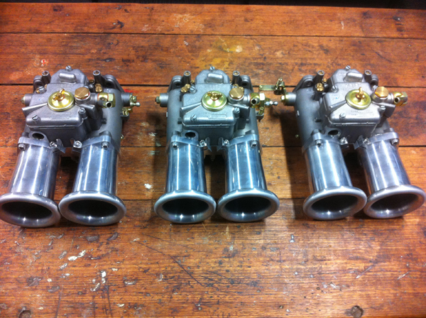 48 DCO SP Weber carburettor