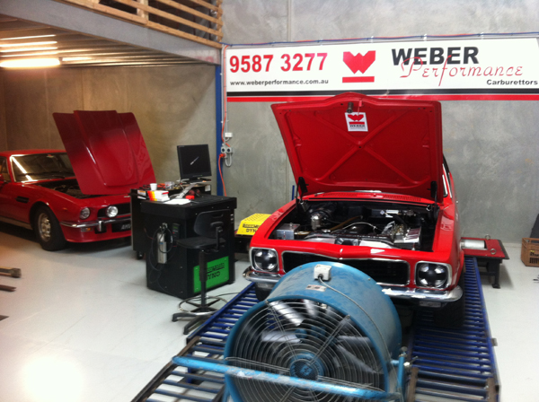 Group N Torana on chassis Dyno