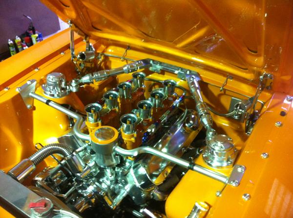 Mustang Show Car 48 IDA Webers